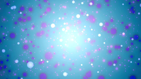 Dot background material Blinking Blue Animation