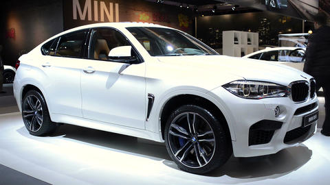 BMW X6 M luxury crossover SUV Footage