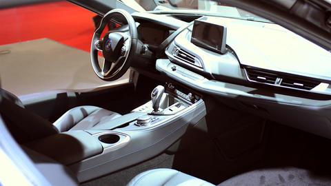 BMW i8 interior Live Action