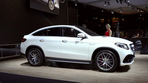 Mercedes-AMG GLE 63 Coupe crossover luxury SUV Live Action