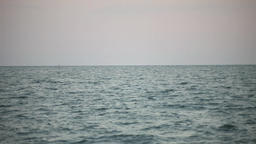 Sea, sky and the horizon Footage