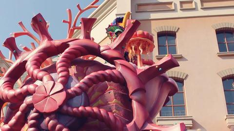 Amusement park parade Live Action