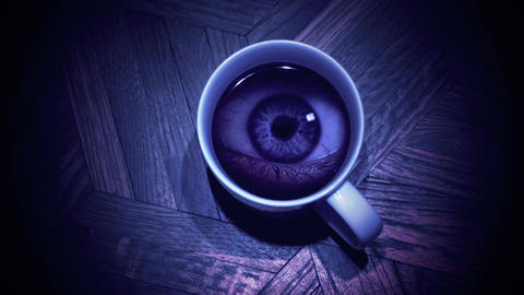 Eye in a glass Animation