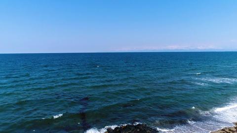 Sea of Japan and wave(30fps) Footage
