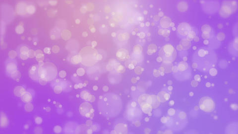 Glowing festive purple background with flickering lights Animation