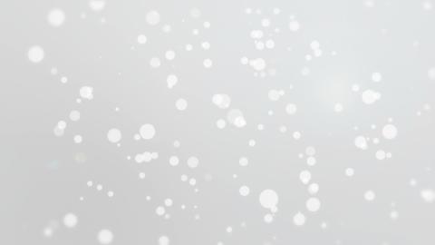 Silver white bokeh background Animation