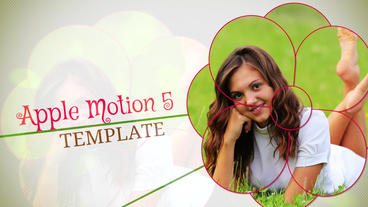 Blossoming Memories: Template for Apple Motion 5 and Final Cut Pro X Apple Motion Template