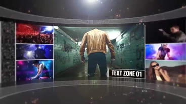 Video Wall Promo After Effects Template
