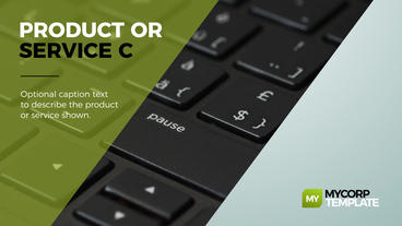 MyCorp Business Promo Plantilla de After Effects
