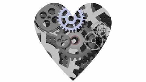Mechanical heart GIF