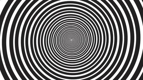 Hypnotic rotating spiral - seamless loop GIF