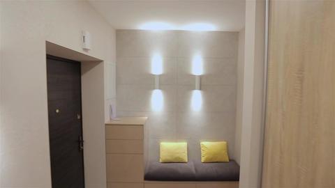 Home interior walk.modern apartment Live Action