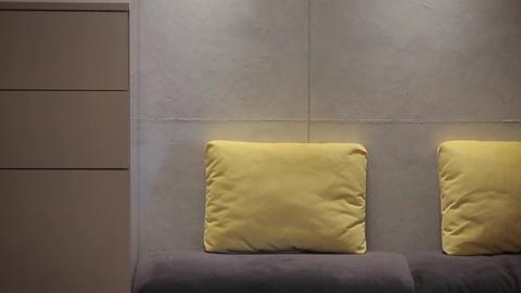 Home interior walk.modern apartment Footage