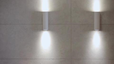 Home interior walk.modern apartment Stock Video Footage