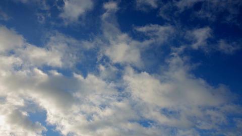 Blue clouds GIF