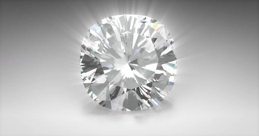 Cushion Cut Diamond Animation