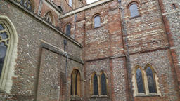 St Albans Cathedral St Albans Hertfordshire UK