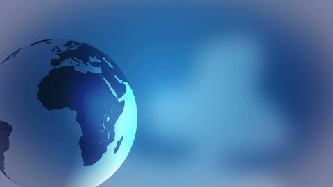 Earth globe spinning template, social networking, global communications Footage