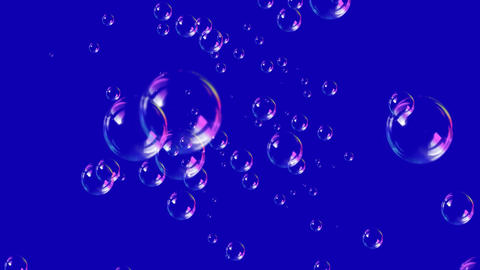 4K Soap Bubbles Footage