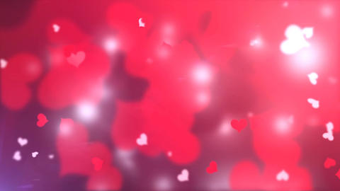 4k Valentine Background Footage