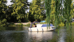 River Thames Cookham Berkshire UK Footage