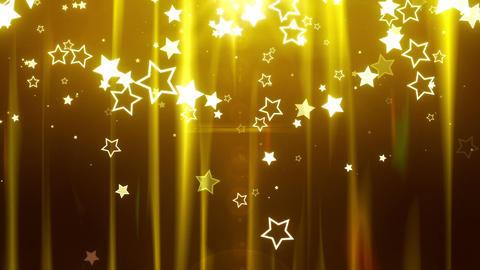 SHA Star BG image Yellow CG動画