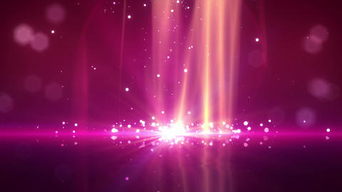 SHA Particle Bounce BG Pink Animation