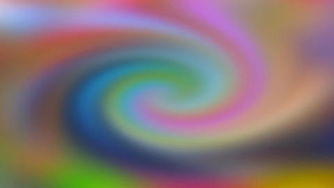 Psychedelic Spinning Colours Footage