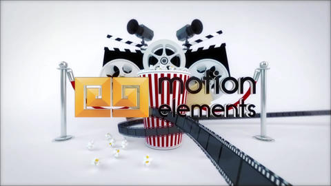 Cinema Movie Logo Reveal After Effects Template