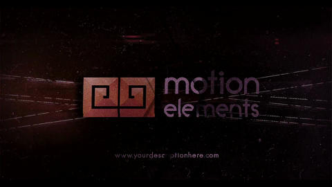 Glitch Logo 4 After Effects Template