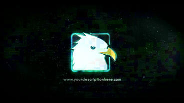 Glitch Logo 9 After Effects Project