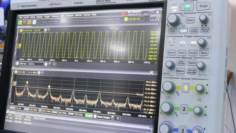 Medical Monitoring Machine Footage