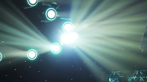 Concert Lights stock footage
