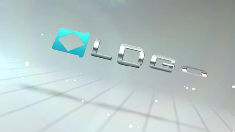 Business Logo 3d Pieces Spin Transition Text Reveal Animtion Intro After Effects Template
