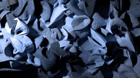 Abstract wood shavings paper cloth pulsating background backdrop 4K Footage