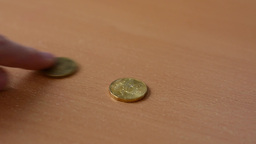 exchanging old coins for new Footage