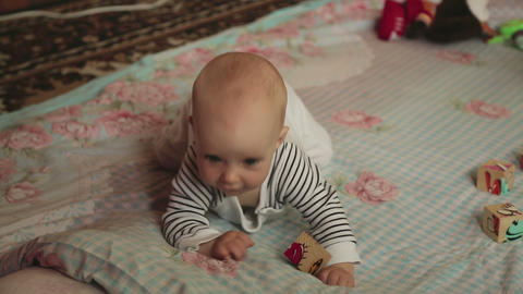 Six month baby girl Live Action
