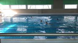 swimming pool time lapse