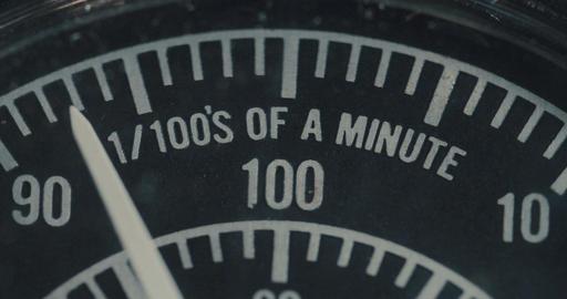 Macro shot of vintage electrical dials ビデオ