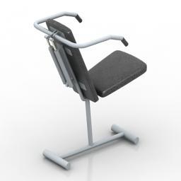 Gym 8 - 3D model Modelo 3D