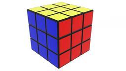Rubiks cube c4d 3Dモデル