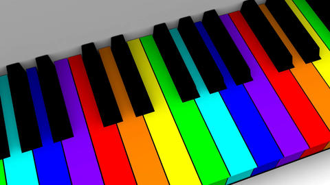 Animated Piano Animation