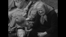 East German Exodus Through Marienfelde Refugee Transit Camp 1961 Footage