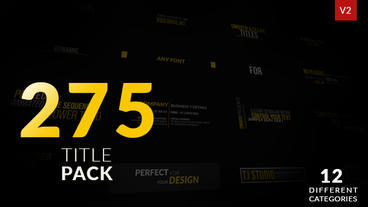 275 title Animation After Effects Projekt