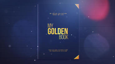My Golden Book After Effects Project