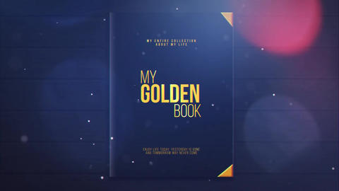 My Golden Book After Effects Template