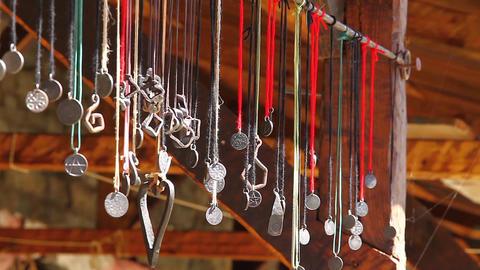 Pagan necklaces Filmmaterial