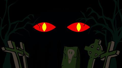 Devil Eyes Stock Video Footage