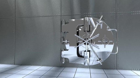 Bank vault Animation