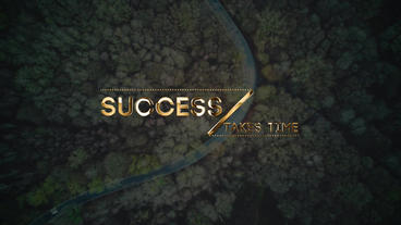 Luxury Titles After Effects Projekt